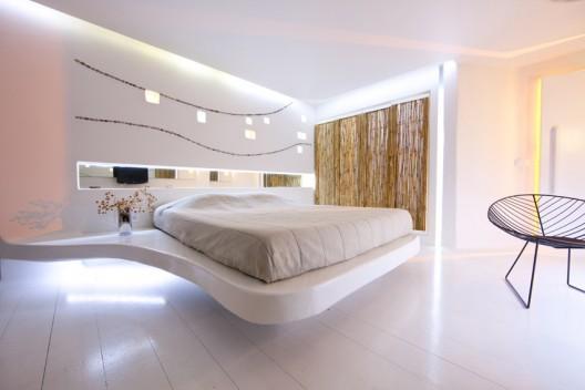 Futuristic hotel room design - Andronikos, Mykonos