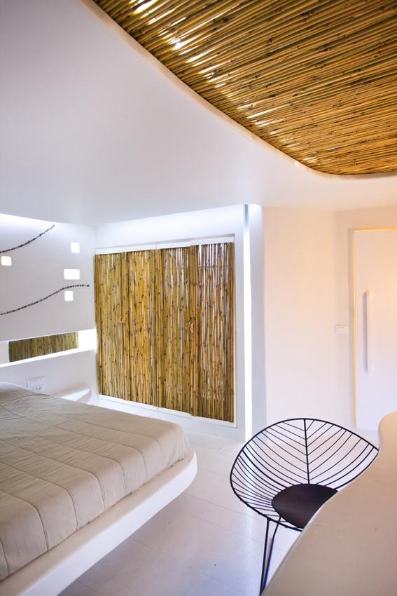 Futuristic Hotel Interior Design - Room in Andronikos in Mykonos, Greece