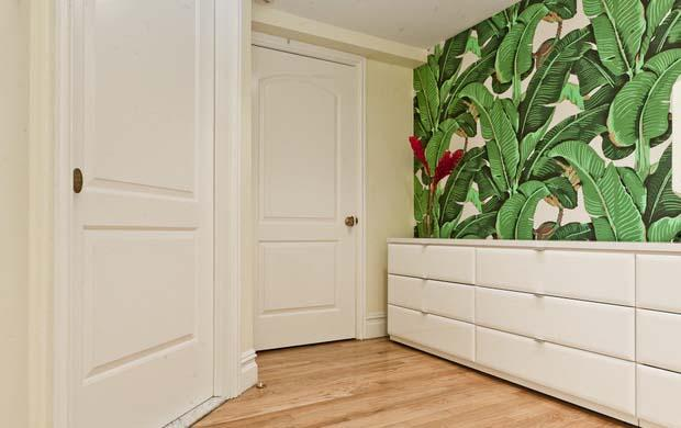 Hallway plants green wallpaper - The Jungle Inspiration