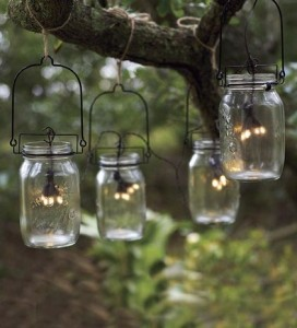 ar Lighting Lamps that are Hanging on a Tree - Summer Garden Party and Fun Ideas, Tips and Examples
