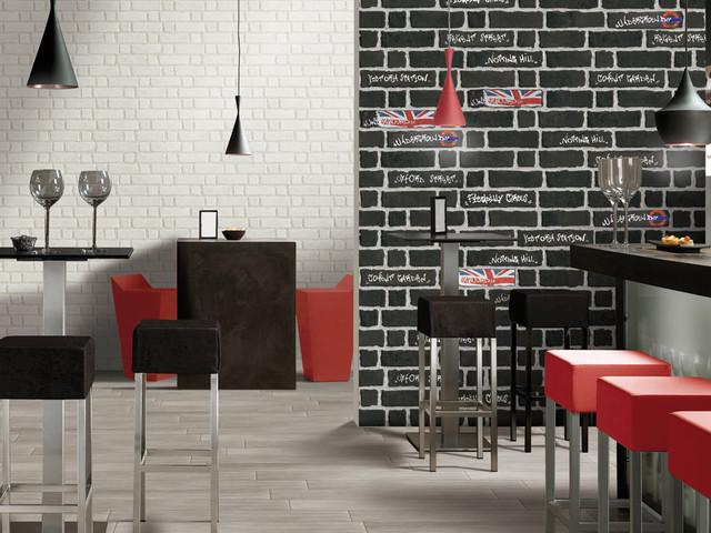 The interior design of a London loft - Tile Trends - The Coverings in Atlanta 2013