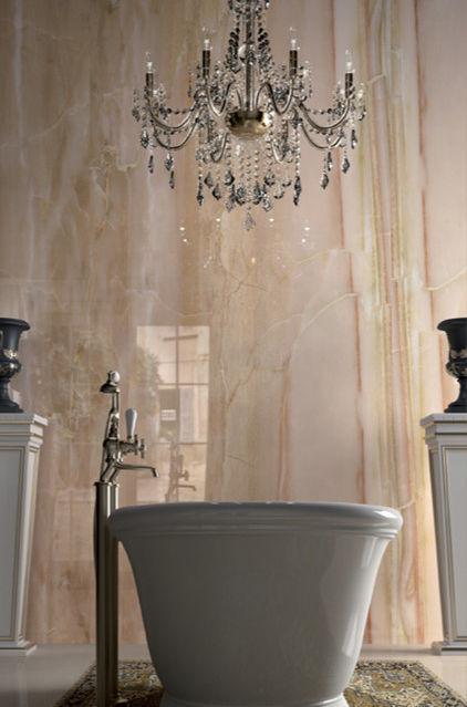 Luxury bathroom marble tiles - Tile Trends - The Coverings in Atlanta 2013