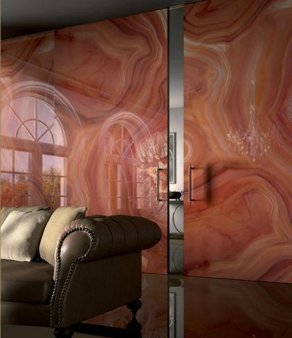 Luxury orange living room tiles - Tile Trends - The Coverings in Atlanta 2013