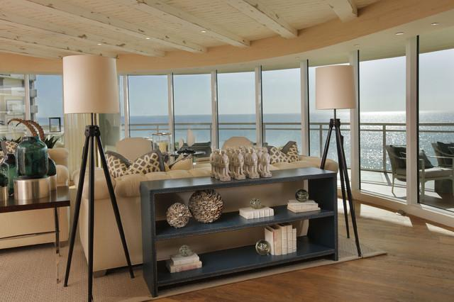 Luxury seaside villa living room lighting ideas and Examples