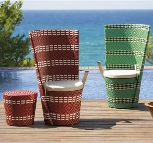 Mediterranean Chairs Design - Patio And Outdoor Furniture Ideas and Examples