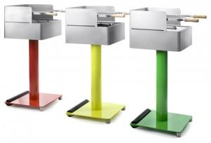 Metal Light Contemporary BBQ for a Modern Home Garden - Where, How and Why to Place them