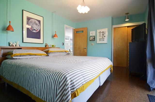 Eclectic Dallas Home With Mid Century Interior Design