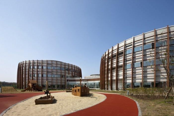 Sustainable Modern School Design in S. Korea