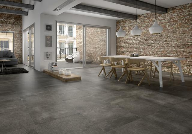 New york loft with tiles on the floor - Tile Trends - The Coverings in Atlanta 2013