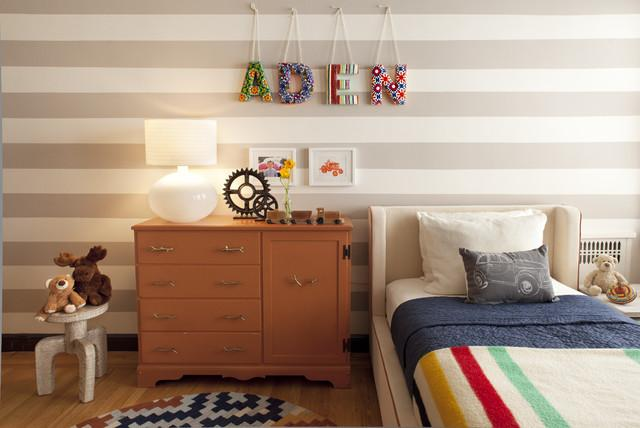 Nice kids room bed - Home Decor Trends in the Nursery – Words & Quotes on the Wall