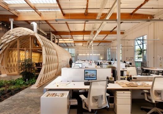 Sustainable office interior design cuningham group - Interior design schools in boston ...
