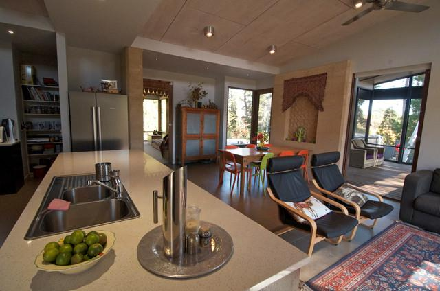 Open kitchen with dining area - Sustainable Home Interior Design - an Exciting Review