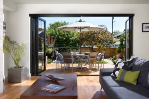 Living Room opened to the Patio - Garden Guide to Organizing your Patio and House Outdoors