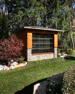 Outdoor Outdoor Garden Patio Multimedia Entertainment Pavilion and Room for Garden Fun