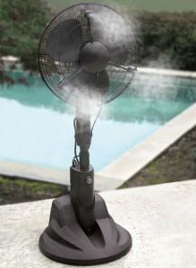 Outdoor Patio Fan - Summer Garden Party and Fun Ideas, Tips and Examples