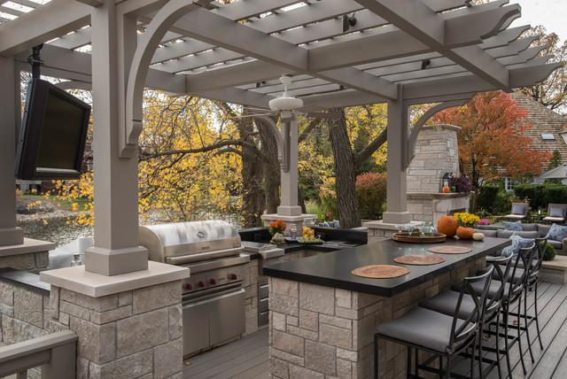 Outdoor Pergola Contemporary Kitchen   Where, How And Why To Place Them