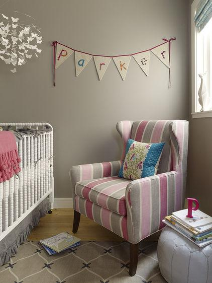 Parker – baby name written on a wall - Home Decor Trends in the Nursery – Words & Quotes on the Wall