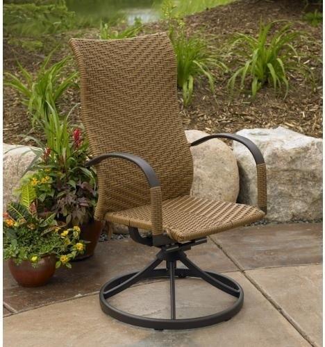 buy blue wicker rocking chair 1