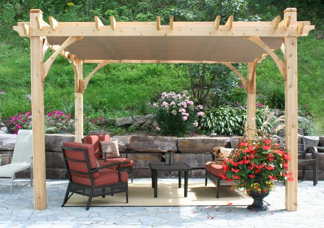 8 Fantastic Small Pergola Furniture Ideas and Examples