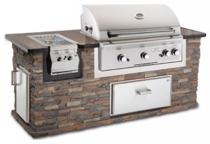Stone Outdoor Barbecue Grill - Where, How and Why to Place them