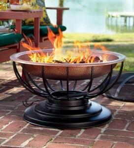 Summer Bio Fire Garden Fireplace - Summer Garden Party and Fun Ideas, Tips and Examples