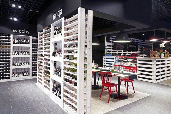 Cozy Wine Shop and Restaurant Design and Architecture