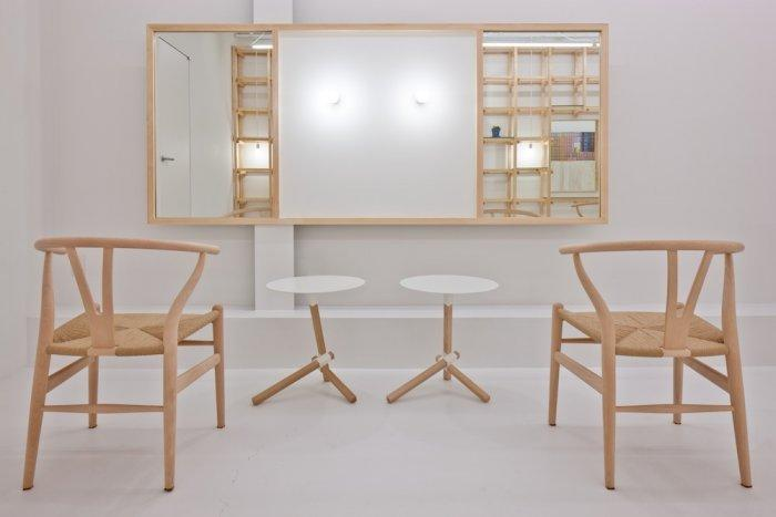 Wooden Beauty Salon Chairs Design - Link Beauty Salon - Simple and Exciting Interior Design