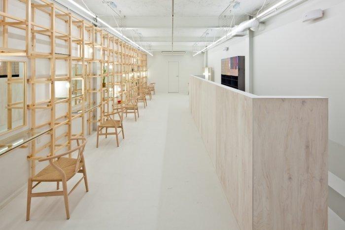 Link Beauty Salon - Wooden Interior of a Modern Beauty Salon