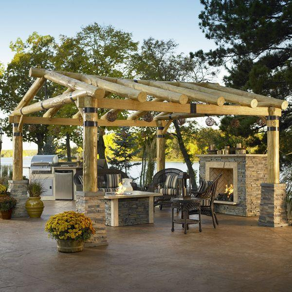 8 Fantastic Wooden Pergola Furniture and Decoration Ideas and Examples