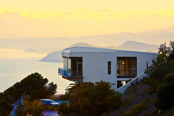 Amazing view form a coastal house in Spain - Contemporary Architecture of a Coastal House in Spain
