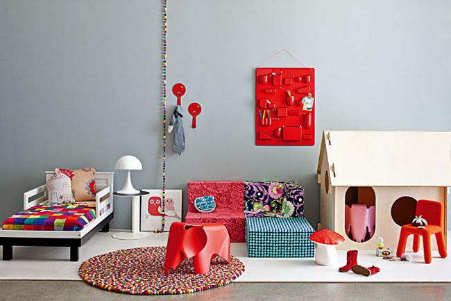 Colorful kids room interior design - Fresh Ideas and Tips