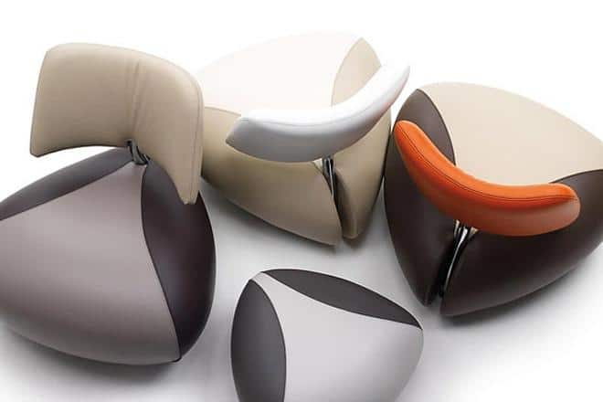 Collection of creative armchairs - Desing by Leolux
