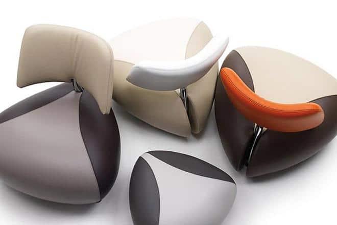futuristic floating cloud couch furniture cushion design concept