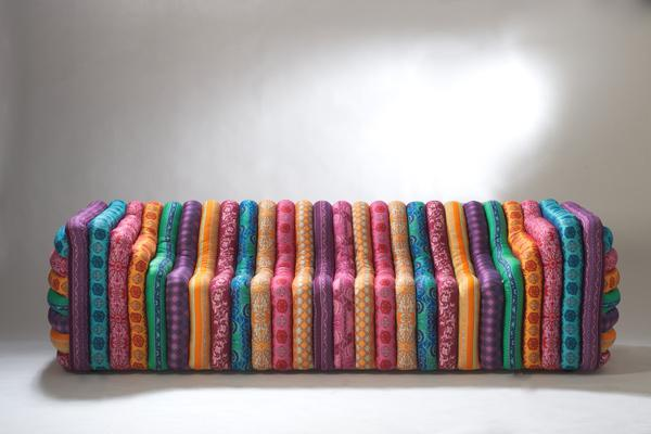 Luxury Sofa Furniture Design - Colorful sofa design by Versace