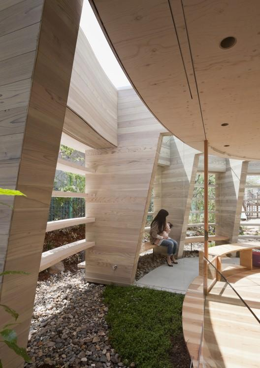 Contemporary Kindergarten Design with Sustainable Architecture