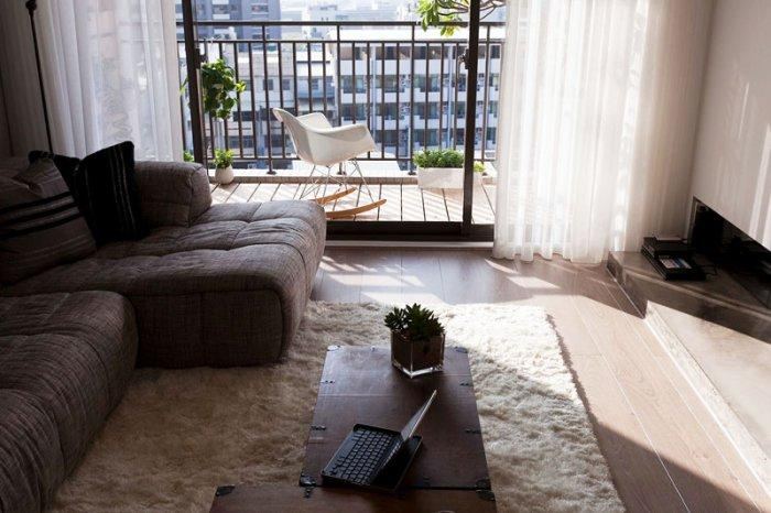 japanese apartment interior design ideas japanese apartment design Contemporary small apartment living room - Japanese Minimalist Apartment  Interior Design by Fertility Design