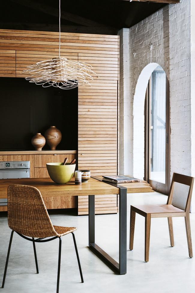 Contemporary wooden kitchen design - Amazing Home Decorating Style Trends and Ideas