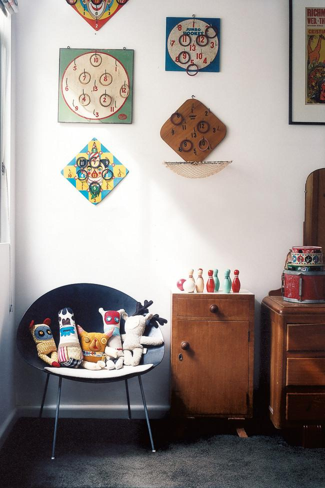 Creative decorating ideas in a vintage room - Amazing Home Decorating Style Trends and Ideas