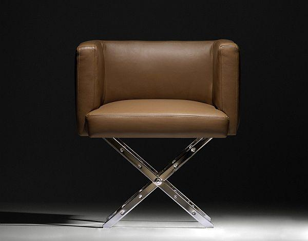 Creative leather chair design - Modern home furniture collection - Alexandra