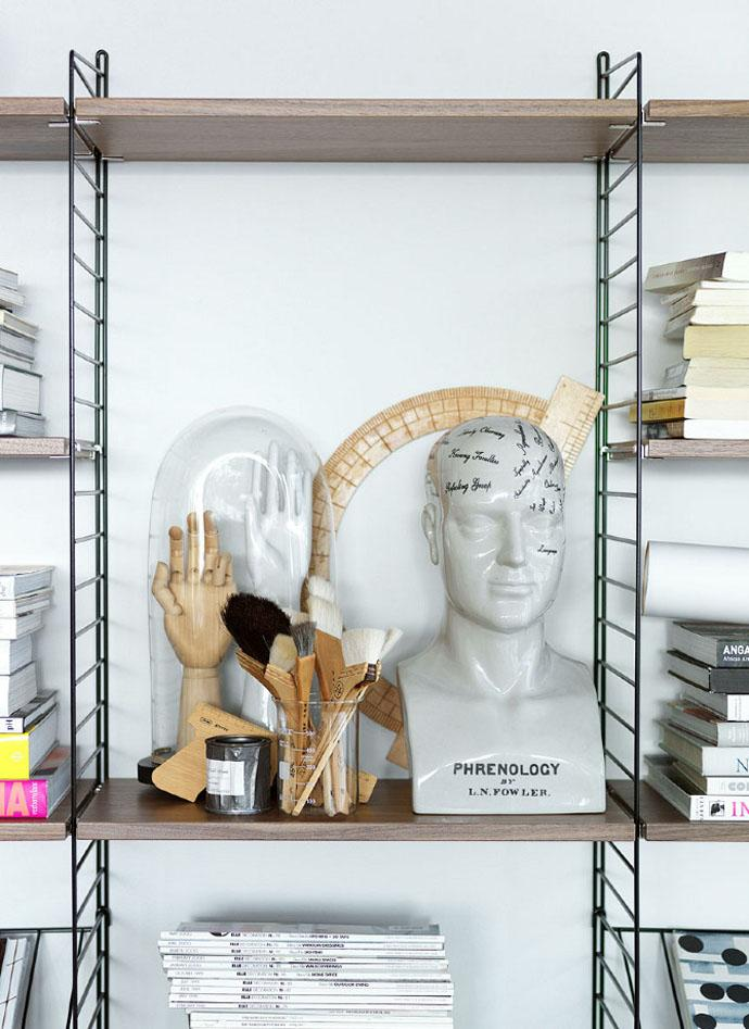 Decorative wall shelves for everyday needs Completing the Furniture