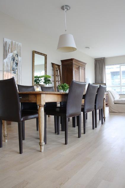 Small Eclectic Apartment Interior Design In Amsterdam