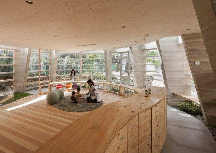 Modern Kindergarten Sustainable Architecture Design