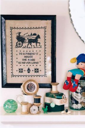 Embroidered wall posters and some toys- Home Decoration Ideas for your Favourite Rooms