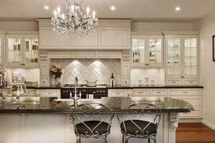 French Style Kitchen Interior Design Founterior
