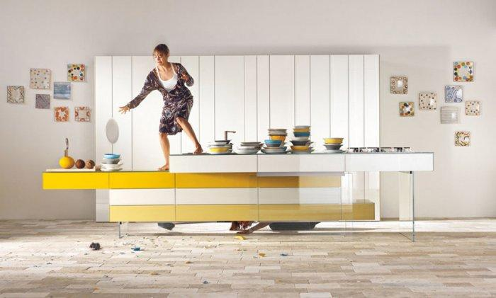 Fresh and Colorful Ideas for Kitchen Furniture