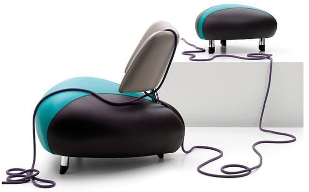 Futuristic Furniture Armchair Desing by Leolux