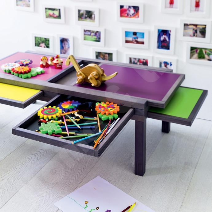Kids drawing table with flexible design - Versatile and Flexible Furniture