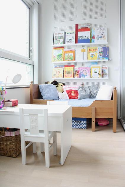 Kids room interior design in eclectic style in Amsterdam