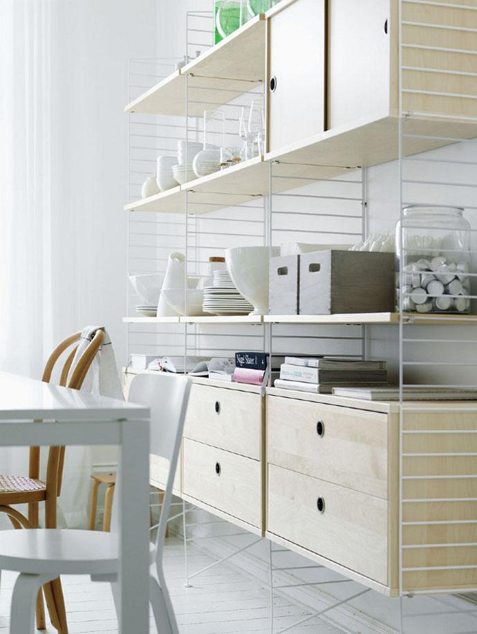 Light and Stable Kitchen add ons shelves for accesories