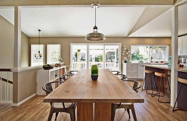 Top 18 Ideas For Your Long Wooden Kitchen Table